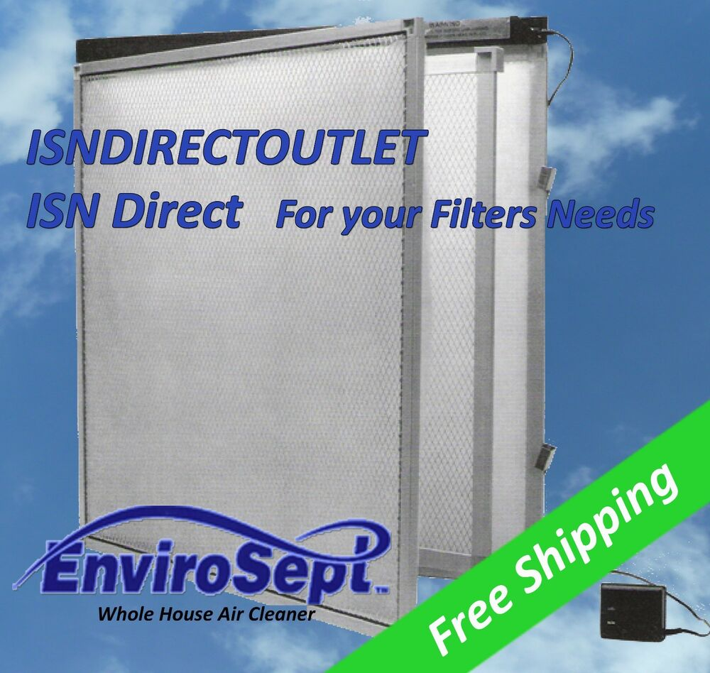 Electronic Air Filters For Hvac : Envirosept electronic furnace air filter panel and