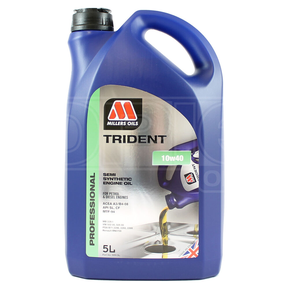 Millers Trident Cost Effective Semi Synthetic 10w 40