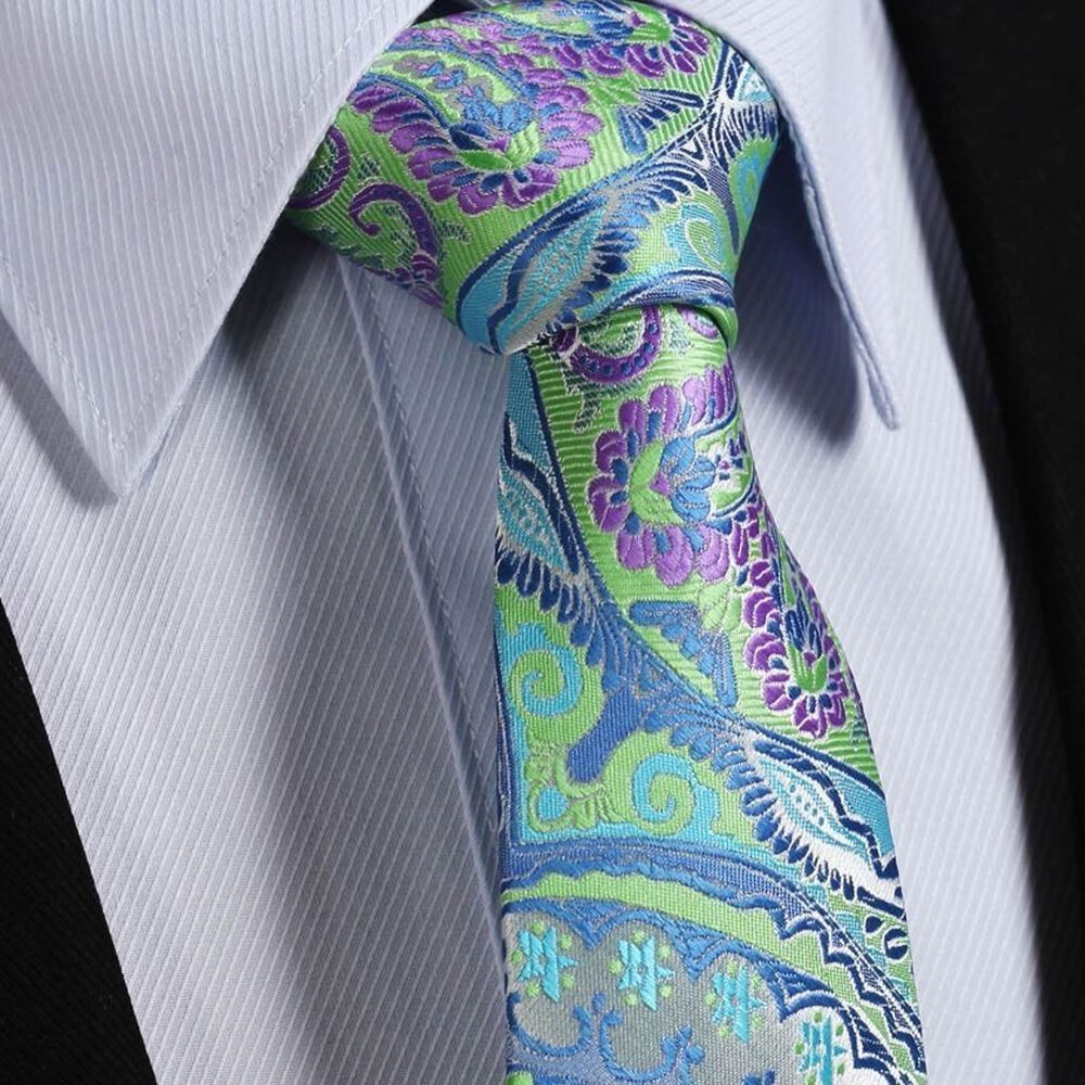 Mens Tie Sale Turquoise Green Blue Purple Amp Grey Silver