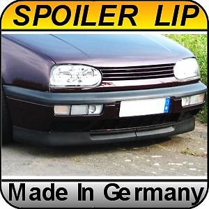 vw golf mk3 jetta gti vr6 deep front bumper spoiler lip ebay. Black Bedroom Furniture Sets. Home Design Ideas