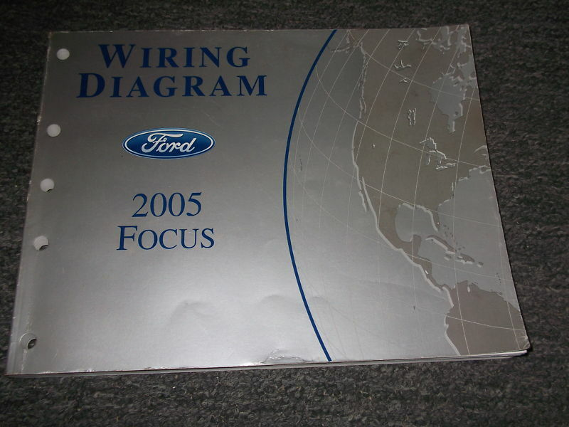 2005 Ford Focus Electrical Wiring Diagrams Ewd Repair