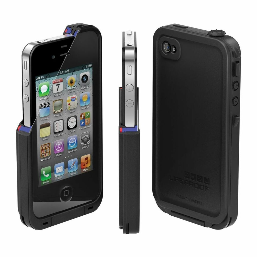 ebay iphone 4 case new lifeproof iphone 4 4s water proof dirt proof snow 14038