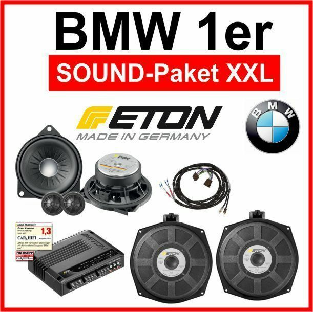 bmw 1er e81 e87 xxl soundpaket bmw harman kardon ersatz. Black Bedroom Furniture Sets. Home Design Ideas