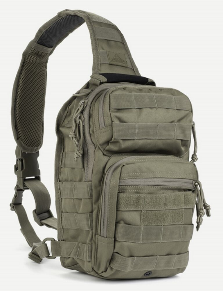 Military Tactical Bug Out Sling Bag Backpack Hunting Carry ...