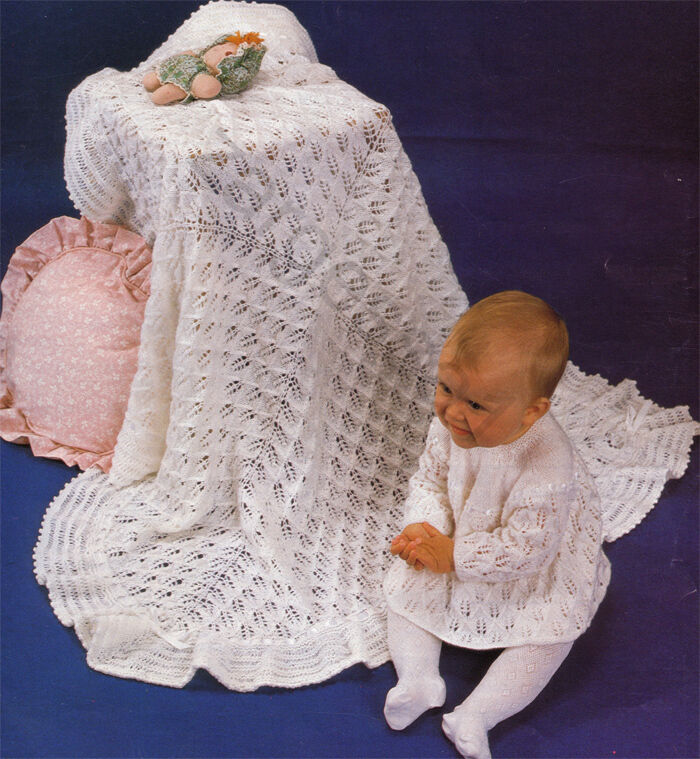 Knitting On The Bias Shawl Pattern : Lovely vintage knitting pattern angel top and shawl