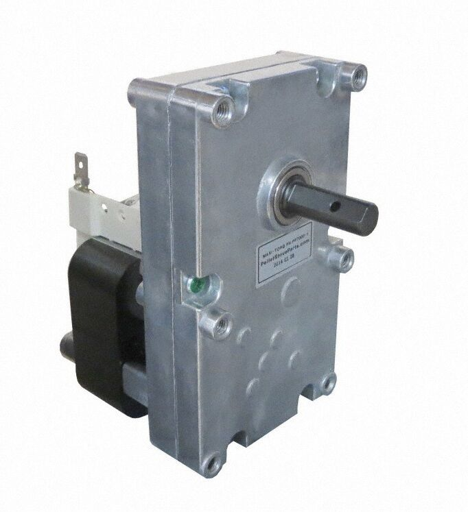 Auger Feed Motor For Whitfield Pellet Stoves 1 Rpm Cw