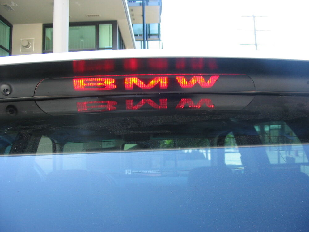 Bmw X5 E53 3rd Brake Light Decal Overlay 00 01 02 03 04 05
