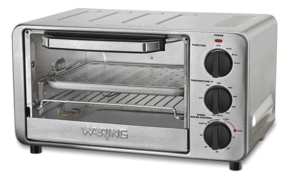 Waring Pro Wto450sil Professional Toaster Oven Brushed