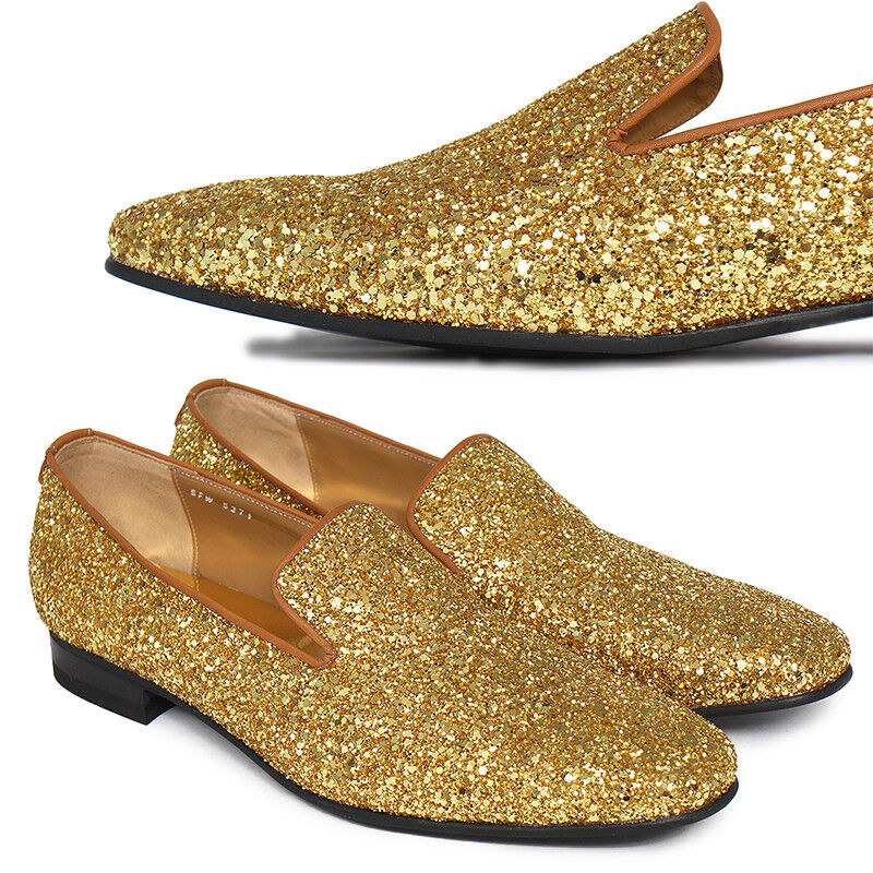 Mens Shoes Dress Gold