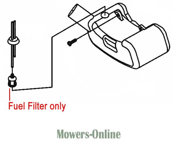 mitox fuel filter e15 fuel hedgetrimmer brushcutter multi tool mip40 12 2