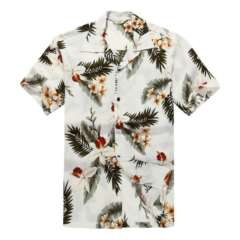 Men aloha shirt cruise tropical luau beach hawaiian hawaii for Mens slim hawaiian shirt