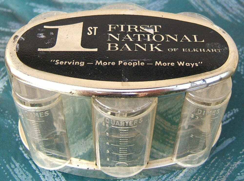 First National Bank Banthrico Chicago Promotional Plastic