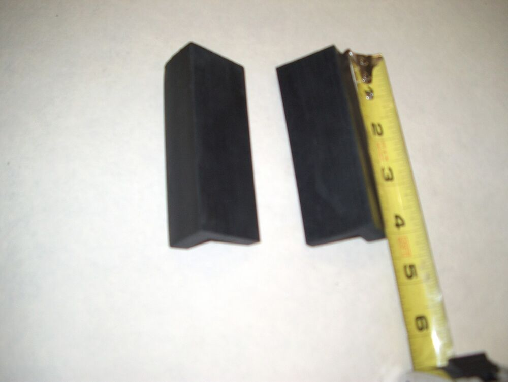 Vise Jaw Pads Hard Rubber 4 In Long Ebay