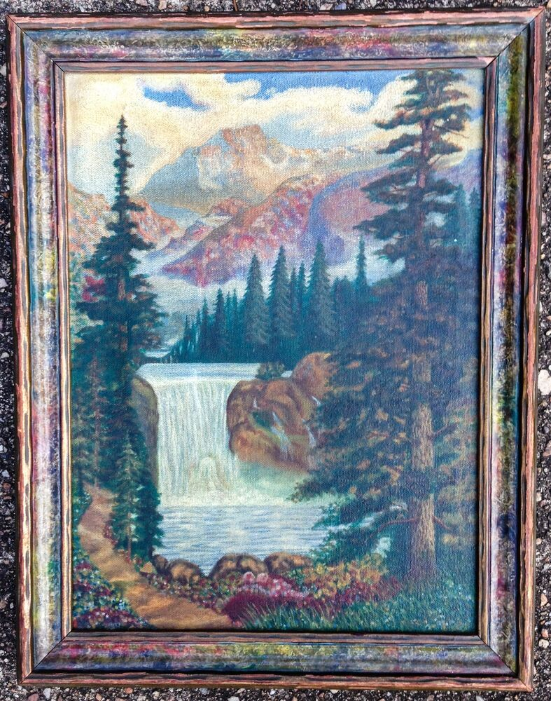 Cleaning Paintings On Canvas