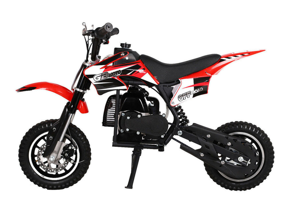 free shipping kids 49cc 2 stroke motor mini bike dirt. Black Bedroom Furniture Sets. Home Design Ideas