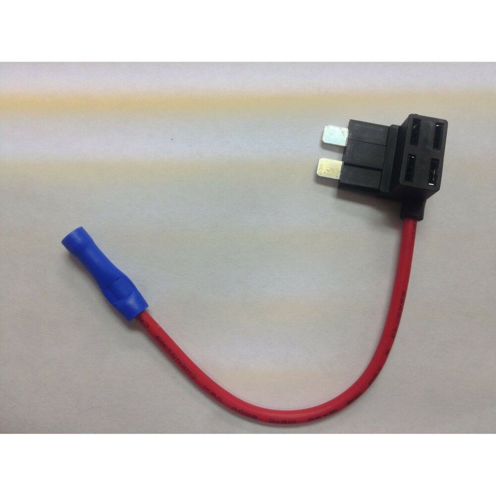Mini blade fuse tap holder add a circuit line ato atc car
