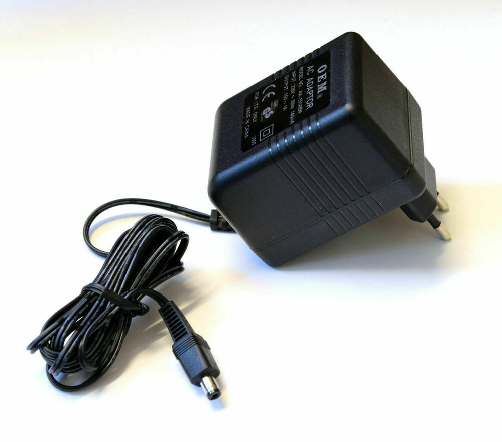 stecker netzteil 12v ac ac wechselstrom 500ma netzger t trafo 0 5a adapter ebay. Black Bedroom Furniture Sets. Home Design Ideas