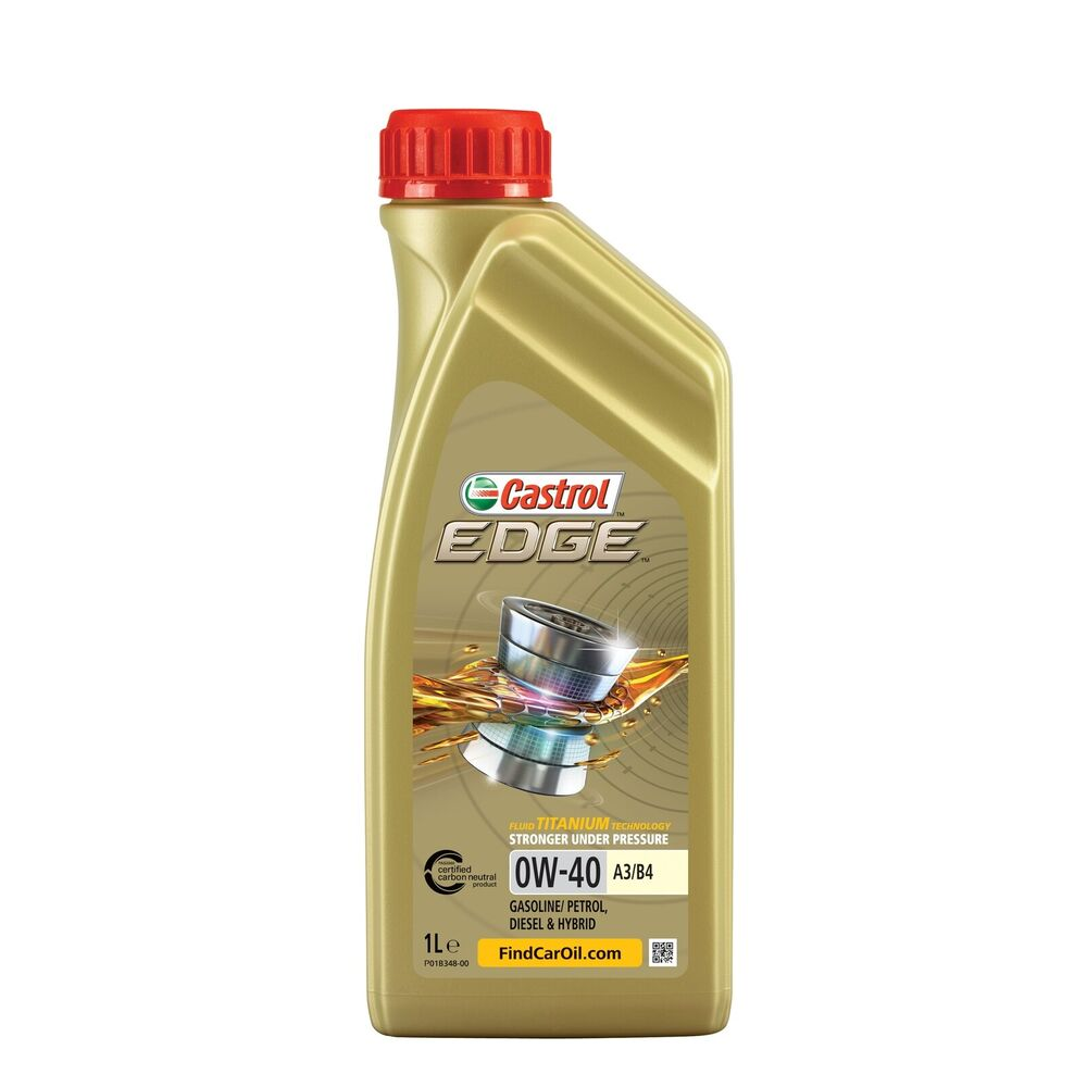 castrol edge titanium 0w 40 fst a3 b4 synthetic engine oil. Black Bedroom Furniture Sets. Home Design Ideas