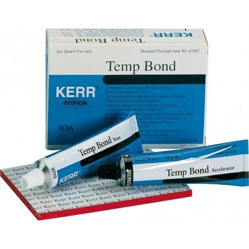 DENTAL Kerr Temp-Bond Temporary Luting Cement the Original ...