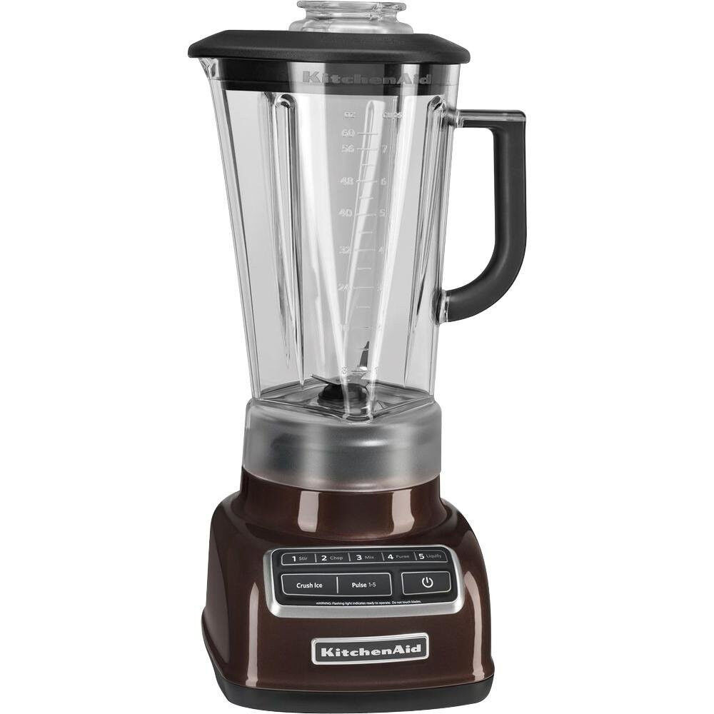 kitchenaid diecast 5 speed blender ksb1575es diamond vortex blade espresso ebay. Black Bedroom Furniture Sets. Home Design Ideas
