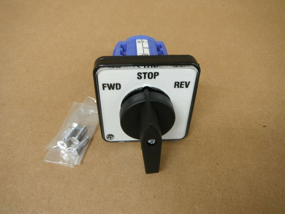 Bridgeport Type Mill Part Import Forward  Reverse Switch New Switch V