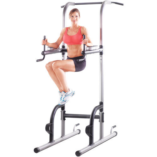 Power Tower Pull Push Chin Up Bar Exercise Dip Station
