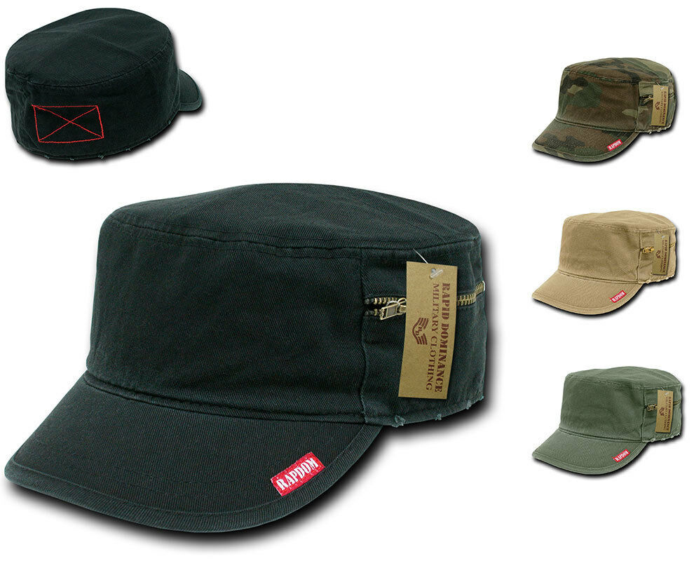 Details about Rapid Dominance French Round Bill Fatigue Cadet Military Army Caps  Hats 3615ae03f80d