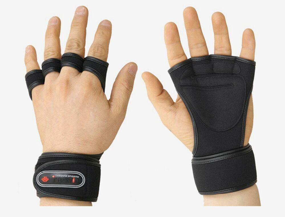 Health Gloves Wrist Wrap Workout Dumbbell Fitness Weight