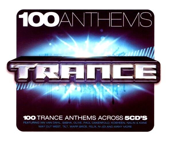 100 anthems trance 5 x unmixed cds 100 tracks ibiza for 90s house anthems