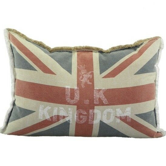 kissen vintage union jack neu dekokissen england flagge united kingdom ebay. Black Bedroom Furniture Sets. Home Design Ideas