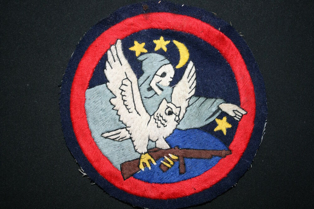 Superb 416th Night Fighter Squadron 12th Aaf Air Force A2