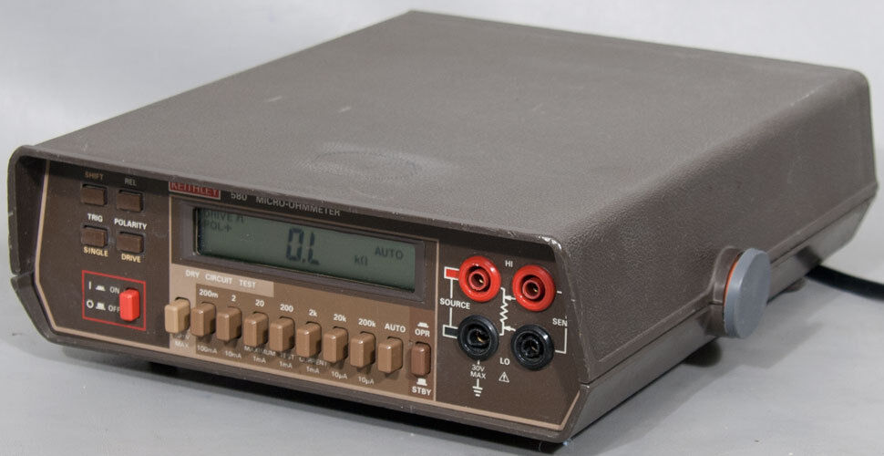 Using An Ohmmeter : Keithley micro ohmmeter w opt ohm meter ebay