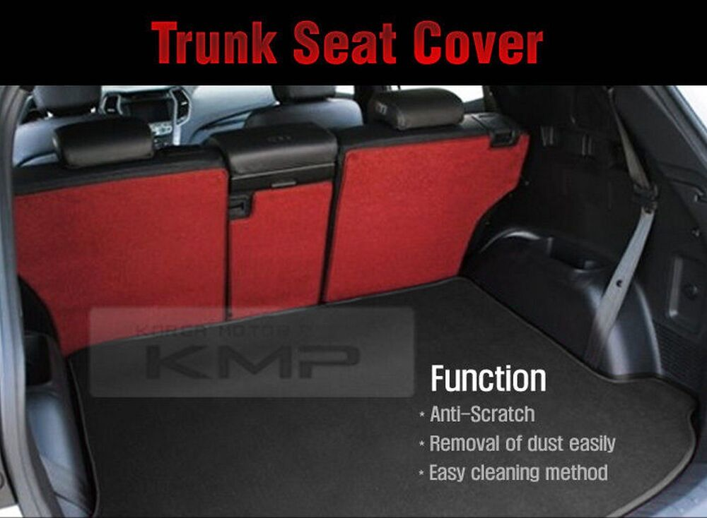 trunk seat cover cargo mat back for kia 2013 2014 sorento r ebay. Black Bedroom Furniture Sets. Home Design Ideas