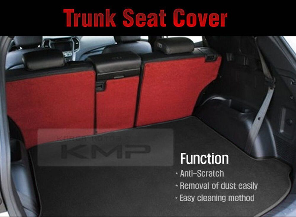 Trunk Seat Cover Cargo Mat Back For Hyundai 2013 2014
