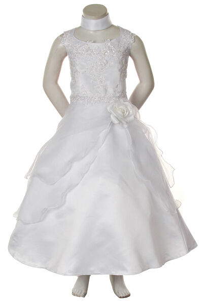 New Girl Pageant Recital Formal First Communion Dress
