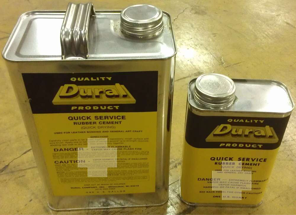Dural Quick Service Drying Rubber Contact Cement Glue Ga
