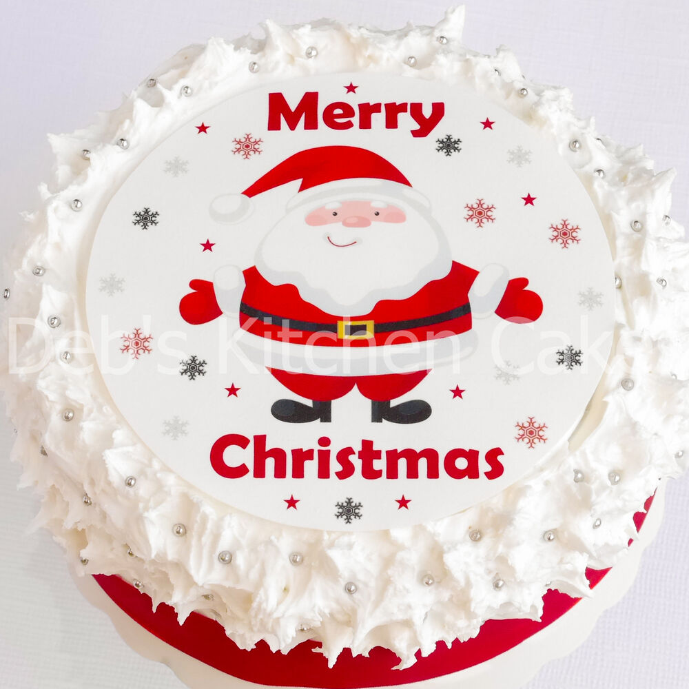 Santa Claus Decorations Uk: Christmas Cake Decoration