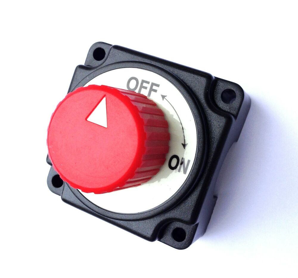 Battery Isolator Switch 250A 12V Cut off Power Kill Switch ...