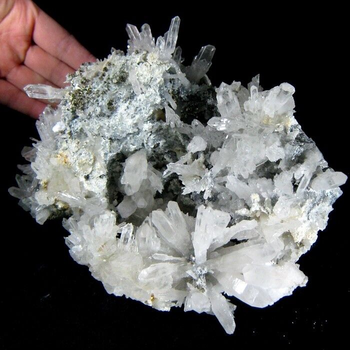 4.7LBS Rare Scepter Clear Quartz Rock Crystal Cluster ...