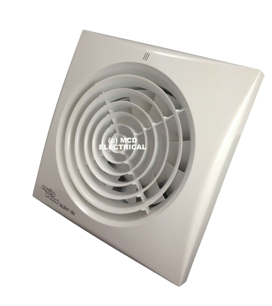 Envirovent silent 150ht extractor fan with humidistat for 6 bathroom extractor fan with timer
