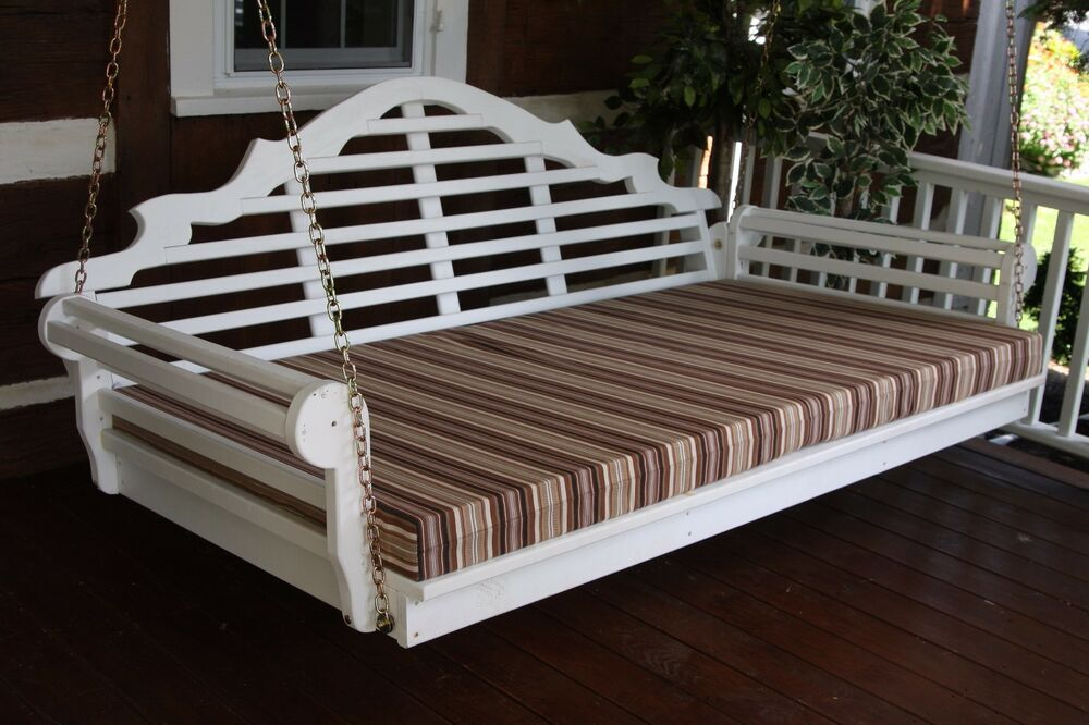 5 Foot Outdoor Swing Bed Mattress Cushion 4 INCHES THICK
