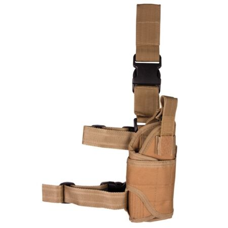 img-Coyote Sand US Style Pistol Leg Holster Adjustable Tactical Military Security