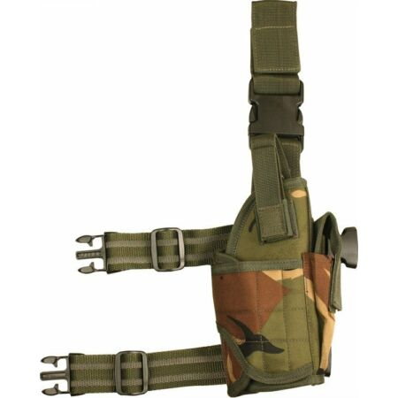img-DPM US Style Pistol Leg Holster Adjustable Tactical Military Security Swat