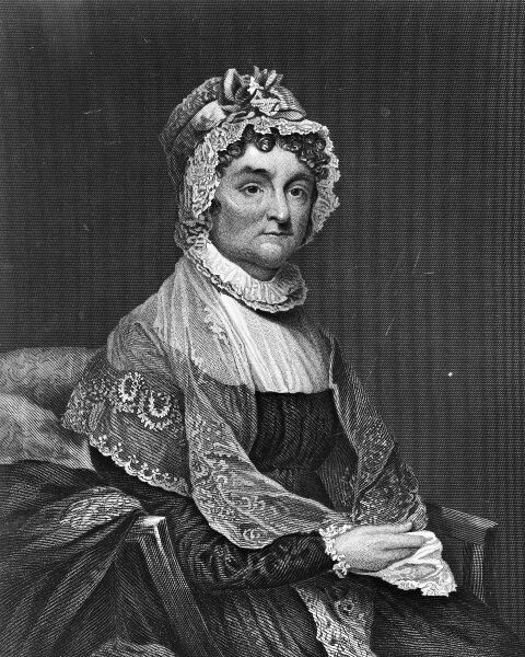 """an autobiography of abigail adams the wife of the second president of the united states London-born louisa adams, wife of sixth us president john quincy  the united states had recently been at war,"""" while abigail would refer to."""