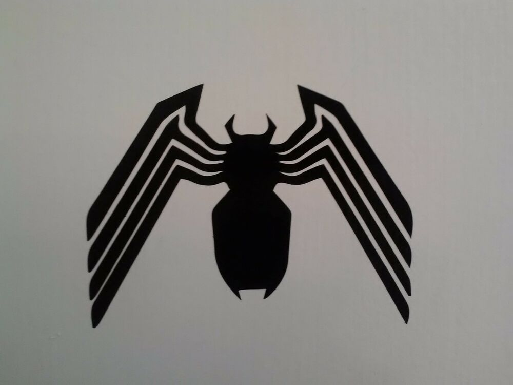 Venom Spiderman Vinyl Decal Sticker For Car  Wall  Laptop  Many Colors And Sizes