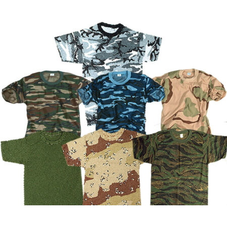 img-ARMY COMBAT MILITARY T-SHIRT AMERICAN US ARMY STYLE CAMO TEE