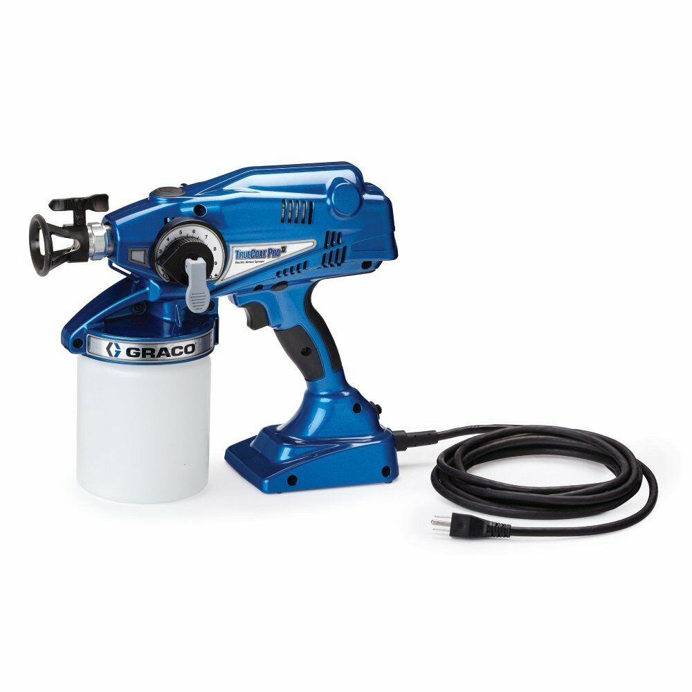 graco truecoat pro ii electric paint sprayer 16n673 ebay. Black Bedroom Furniture Sets. Home Design Ideas