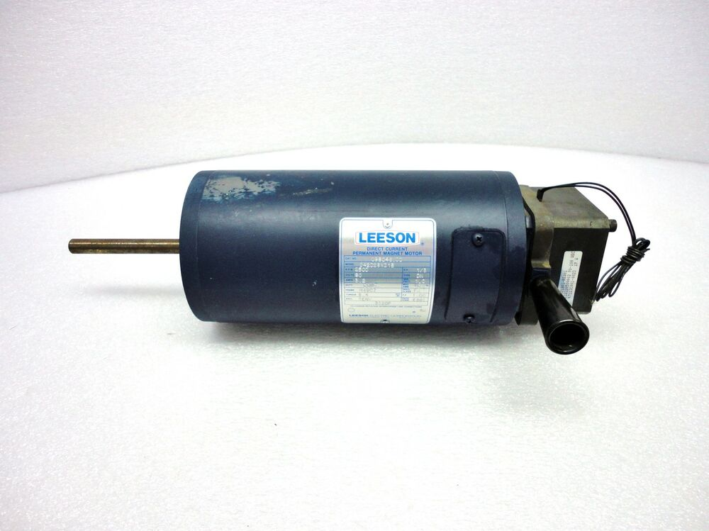 New leeson dc permanent magnet motor for Dc permanent magnet motor