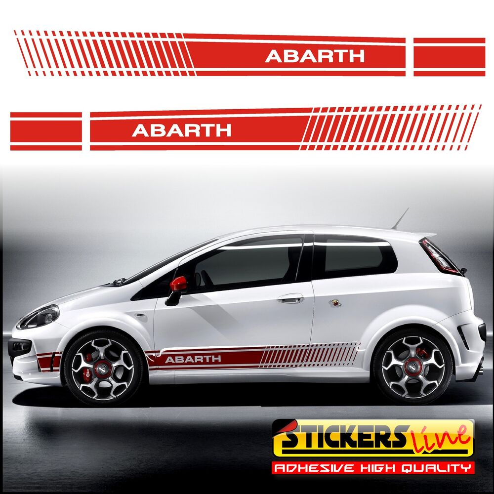 adesivi fiat punto abarth fasce adesive fiat grande punto. Black Bedroom Furniture Sets. Home Design Ideas