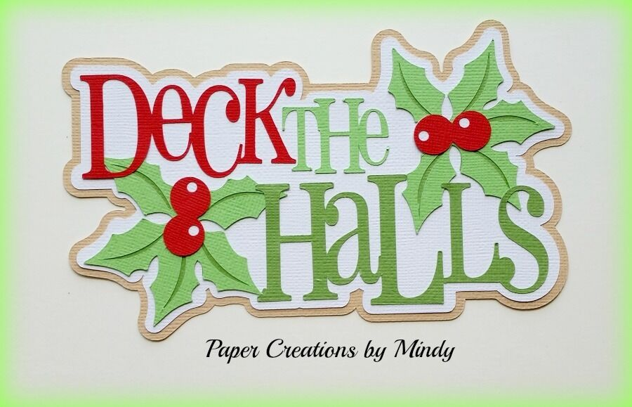 Christmas Crafts With Scrapbook Paper